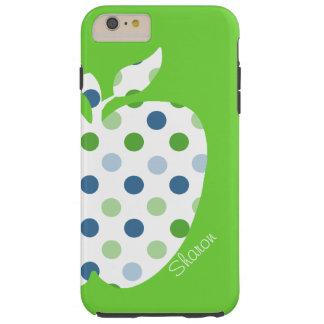 Polka Dot Apple Teacher's iPhone 6 Plus case