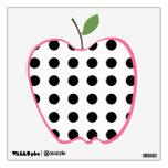 Polka Dot Apple Wall Decal