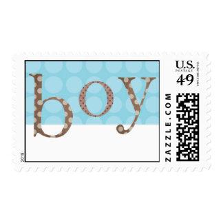Polka Dot - Baby Boy Postage