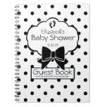 Polka Dot Baby Shower Guest Book- Journal