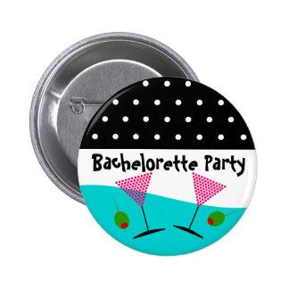 Polka Dot Bachelorette Party Buttons