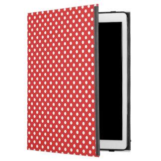 """Polka dot background iPad pro 12.9"""" case"""