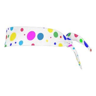 Polka Dot Balloon Bubbles Tie Headband