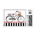 Polka Dot Bicycle-New Bike Postage Stamps