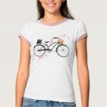Polka Dot Bicycle T-Shirt