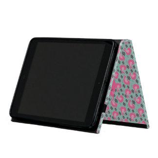 Polka Dot Birds and Flowers iPad Mini Case
