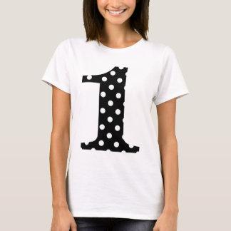 Polka Dot Black and White One T-Shirt