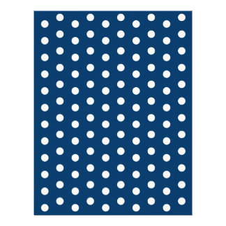 Polka Dot Blue White Baby Scrapbook Paper