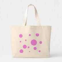 Polka-Dot Bonanza Canvas Bags