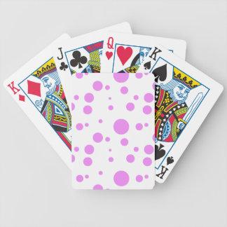 Polka-Dot Bonanza Bicycle Playing Cards
