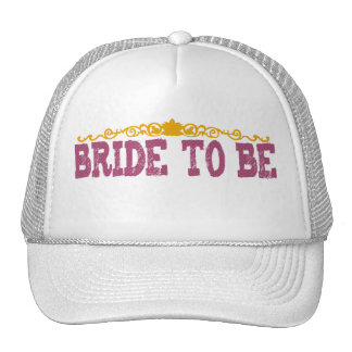 Polka Dot Bride to Be Hat