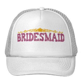Polka Dot Bridesmaid Hat