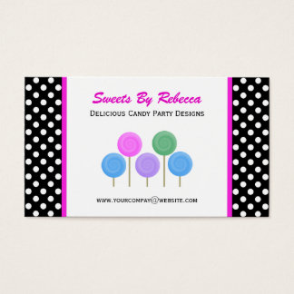 Polka-dot & Candy Business Card