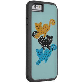 Polka Dot Cat Pattern iPhone 6 case