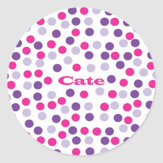 Polka Dot - Cate Sticker