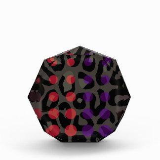 Polka-dot Cheetah Acrylic Award
