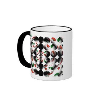 Polka Dot Chili Coffee Mug