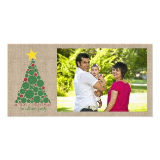 Polka Dot Christmas Tree Card