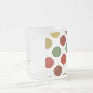 Polka Dot Christmas Tree Mug