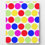 Polka dot, Colors set 1 Display Plaque