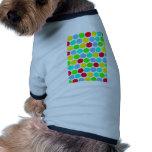 Polka dot, Colors set 3 Dog Tee Shirt