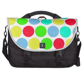 Polka dot, Colors set 3 Laptop Bags