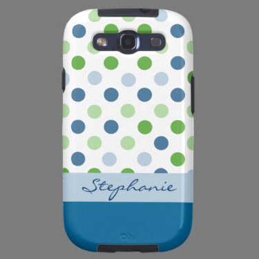 Polka Dot Custom Samsung Galaxy S3 Case