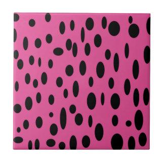 Polka Dot Design Tile