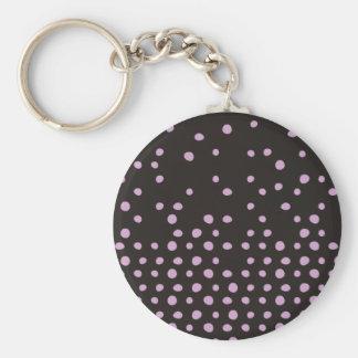 Polka Dot Destruction Keychain