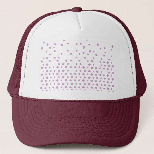 Polka Dot Destruction Trucker Hat
