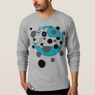 Polka Dot Dog Long Sleeve T-Shirt