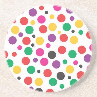 Polka Dot Dream Beverage Coasters