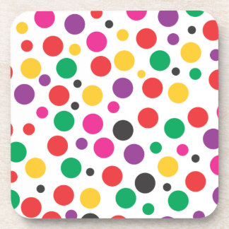 Polka Dot Dream Drink Coaster