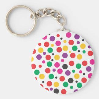 Polka Dot Dream Keychain