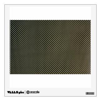 Polka Dot Fabric Surface Room Graphics