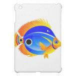 Polka Dot Fish in Blue & Orange Cover For The iPad Mini