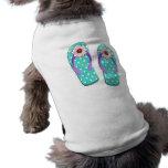 Polka Dot Flip Flops Pet Clothing