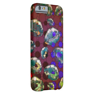 Polka-dot Florescent Lips Barely There iPhone 6 Case