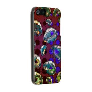 Polka-dot Florescent Lips Metallic iPhone SE/5/5s Case