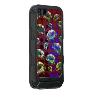 Polka-dot Florescent Lips Waterproof iPhone SE/5/5s Case