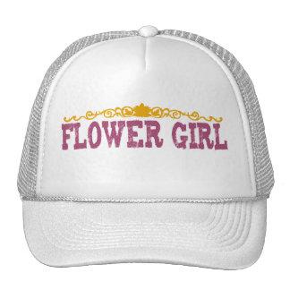 Polka Dot Flower Girl Hat