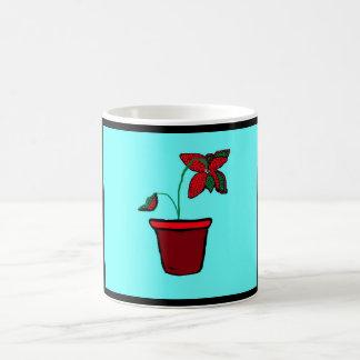 Polka Dot Flower - Mug