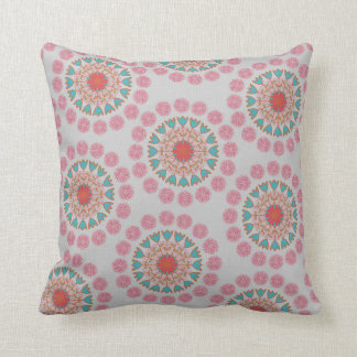 Polka Dot Folksy Throw Cushion