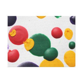 Polka Dot Fun Canvas Print