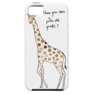 Polka Dot giraffe iPhone SE/5/5s Case