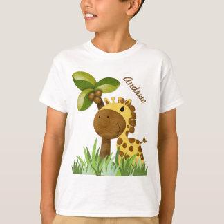 Polka Dot Giraffe T-Shirt