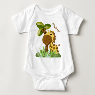 Polka Dot Giraffe T Shirt