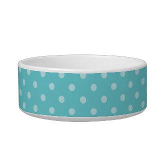 Polka Dot Happy Corgi Pet Bowl