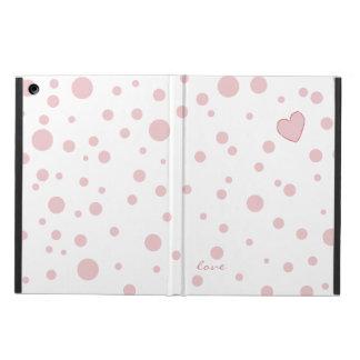 Polka Dot Heart iPad Air Case