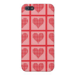Polka Dot Heart Pattern iPhone 5 Cases